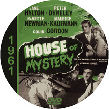 "House of Mystery (1961) Sci-Fi and Horror NR CULT ""B"" Movie DVD"