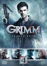 """Grimm: Season Series 4 DVD Three New & Sealed Region 4 """"on sale"""""""