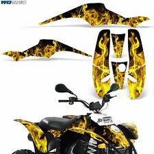 Decal Graphic Kit Polaris Scrambler 500/350 ATV Quad Wrap Part Deco 85-09 ICE Y