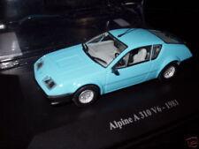 Voiture 1/43 eligor RENAULT Alpine : A310 V6 bleu 1981