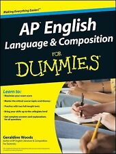 AP English Language and Composition For Dummies paperback book