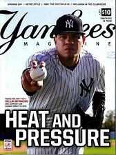 NEW YORK YANKEES MAGAZINE MAY 2016 OFFICIAL DELLIN BETANCES YANKEE STADIUM
