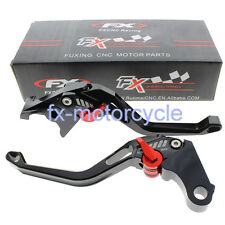 CNC 3D Rhombus Brake Clutch Levers Set For Ducati STREETFIGHTER 848 2012-2015