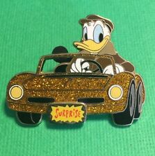 DISNEY SURPRISE PIN COLLECTION 2006 GLITTER CARS DONALD LIMITED EDITION 1000