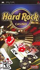 Hard Rock Casino UMD PSP COMPLETE SONY PLAYSTATION PORTABLE GAME