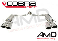 Cobra Sport Mercedes W204 C220 Quad Exit Exhaust - AMG Style Conversion - Coupe