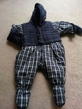 M&S boys sleeping suit, 0-3 months, navy, brand new with tags
