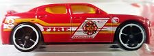 Hot Wheels 2016 HW Rescue Dodge Charger SRT8 Red Treasure Hunt Fire Rescue 1:64