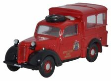 Oxford 76TIL006 Austin Tilly City Of Leeds Fire Brigade I1/76 Scale New -T48