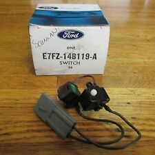 NOS 1987 - 1990 FORD ESCORT SEAT BELT SHOULDER STRAP RELEASE SWITCH E7FZ14B119A