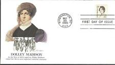 US Bicentennial Cover, dolley madison
