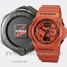 Authentic Casio G-Shock Men's Orange Classic Series Watch GA150A-4A