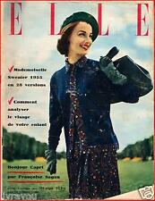 ▬►Elle 460 (1954) Maurice Chevalier_Mode Fashion Givenchy