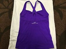 Lorna Jane Kristy Excel Tank in Electric Purple SZ XS