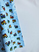Train Flannel Swaddling blanket & Flannel and Terry burp cloth