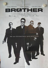 BROTHER Filmplakat Poster Plakat TAKESHI KITANO Omar Epps 2000 Movie