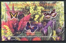 KOLUMBIEN COLOMBIA 2005 Schmetterlinge Butterflies Insekten Block 61 ** MNH