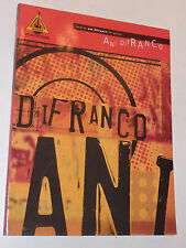 Best of Ani Difranco GUITAR VOCAL hal leonard PARTITION sheet music SONGBOOK