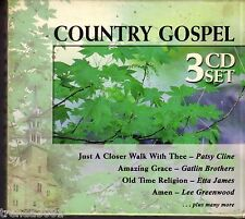 Country Gospel Classics 3CD Greatest 50s 60s RAY PRICE FERLIN HUSKY SANDY POSEY