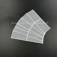 """50Pcs Silver-gray Color Scratch Off Stickers Games Prize Cards Parties 1.6*2.8"""""""