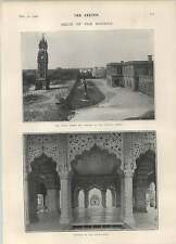 1902 Chandni Chowk Clocktower Library Delhi