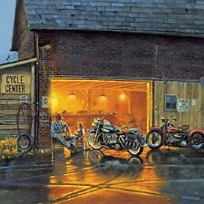 Jigsaw puzzle Motorcycle King of the Road 1000 piece NEW Made in USA