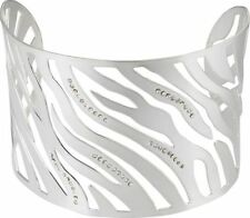 Envidia Crystal Tiger Cuff Bangle*Stainless Steel*Brand New