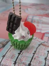 VANILLA MINT CHOCOLATE CUPCAKE  STRAWBERRY  DIY KITCH GOBBOLINO EMERALD