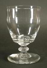 Großes Fußglas /Formglas sog. Muckglas, nordd., Abriß,19. Jh. ,H 13 cm