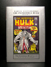 COMICS: Marvel Masterworks: The Incredible Hulk #1-6 hardcover - RARE (figure)