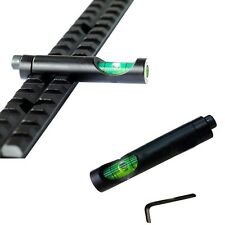 Metal Spirit Bubble Level for Picatinny Weaver Rail Rifle Sight Scope Mount Hot