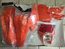 KIT PLASTICHE KTM  EXC F EXCF 4T 250 400 450 525 2004 4 PZ COLORE ARANCIO