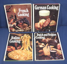 Round the World Cooking Library French Italian German Dutch Belgian 4 Cook Books