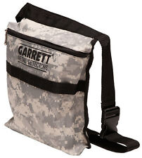 Garrett-Camo-Canvas-Metal-Detecting-Finds-Recovery-Bag-Pouch-with-Belt-1612900