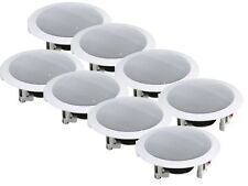 8 x Adastra RC5 Ceiling Speaker White 35W 8ohm PA Hifi Sound System Audio
