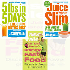 Jason Vale Diet Collection 3 Books Set (The Juice Master's Ultimate Fast Food)