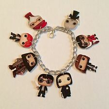 Harry Potter Dolls Inspired Loaded Handmade Bracelet Plastic Charms