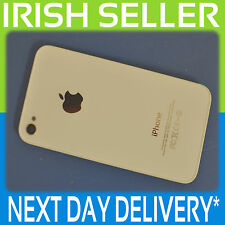 APPLE IPHONE 4S A1387 GENUINE WHITE BATTERY BACK COVER GLASS DOOR CASE