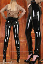 100% Latex Rubber Gummi 0.45mm Catsuit Pants Suit Tights Trousers Jeans