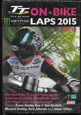 TT ON BIKE LAPS 2015 GENUINE R2 DVD BRUCE ANSTEY VOLUME TWO NEW/SEALED