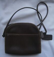 COACH VINTAGE N0.B7C-9017  CROSS BODY PURSE + MINI WALLET BROWN LEATHER SMALL