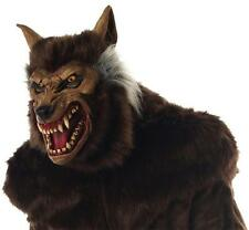 ADULT MEAN  ANIMAL WEREWOLF HAIRY DELUXE MASK COSTUME MR035011