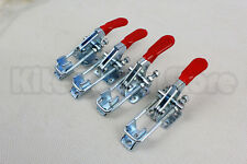 4PCS Hand Tool Metal Holding Capacity Latch Type Toggle Clamp GH-40323 360lb USA