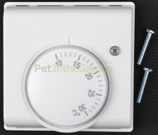 Mechanical Thermostat for Egg Incubator Reptile Tank Central Heating System