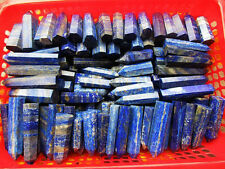 1/2lb WHOLESALE TOP!!! NATURAL LAPIS LAZULI CRYSTAL WAND POINT HEALING 5-6pcs