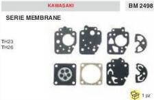 SERIE KIT MEMBRANE membrana CARBURATORE TAGLIASIEPI KAWASAKI TH23 TH26 TH 23 26