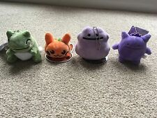 Pokemon Center Mini Plush Ditto Gengar Secret Base Pumpkin Pikachu Substitute