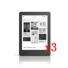 "AU 3Pcs HD LCD Film Gurad Screen Protector For Kobo Aura Edition 2 6"" eReader"