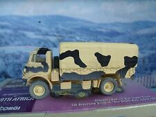 1/50 CORGI BEDFORD supply truck 7th Armoured div.Desert rats Libya 1942 #CC60303