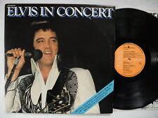 ELVIS PRESLEY In Concert 2 LP 1977 Sweden EX